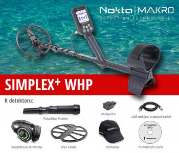 Detektor kovů Nokta – Makro Simplex+ WHP pinpointer set