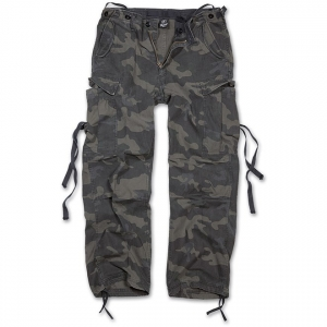 Kalhoty Brandit M65 Vintage Trouser - Darkcamo