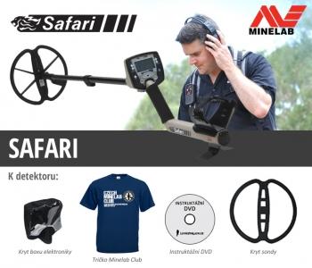 Detektor kovů Minelab Safari