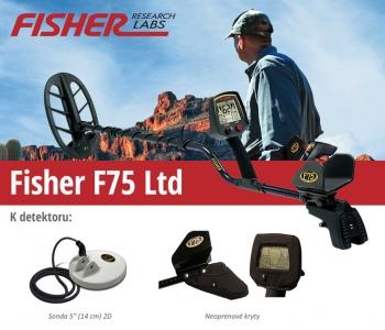 Detektor kovů Fisher F75 LTD V2.0