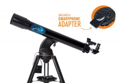Celestron AstroFi 90/910mm GoTo čočkový teleskop