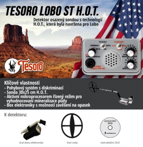 Detektor kovů Tesoro Lobo ST HOT