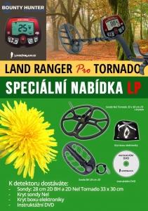 Detektor kovů Bounty Hunter Land Ranger Pro TORNADO
