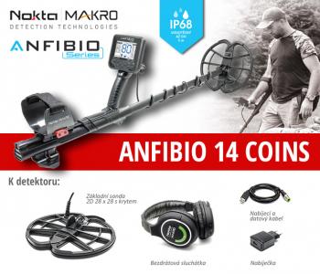 Detektor kovů Nokta Anfibio 14 Coins