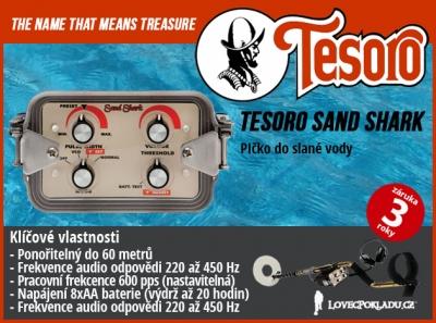 Detektor kovů Tesoro Sand Shark