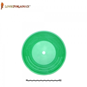 Rýžovací pánev zelená, plastová 25cm