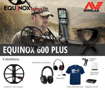 Detektor kovů Minelab Equinox 600 Plus