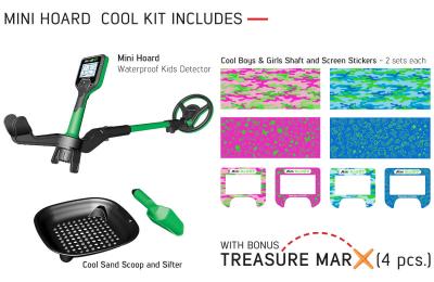 Detektor kovů Nokta - Makro Mini Hoard COOL KIT