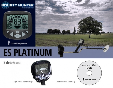 Detektor kovů Bounty Hunter ES Platinum