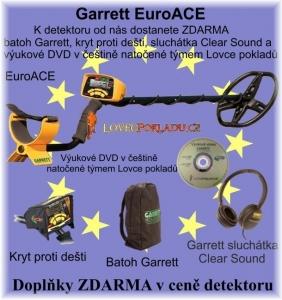 Detektor kovů Garrett EuroAce