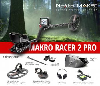 Detektor kovů Makro Racer II Pro