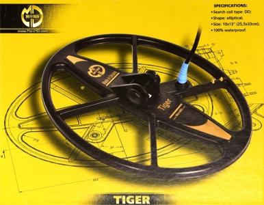 Sonda MARS MD Tiger pro Teknetics Alfa, Delta, Gamma a Omega