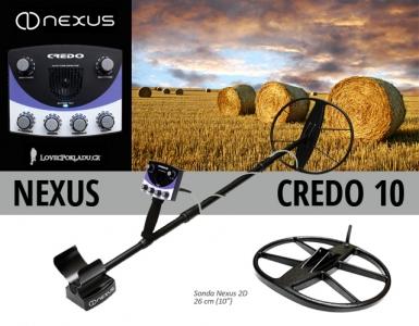 Detektor kovů Nexus Credo 10