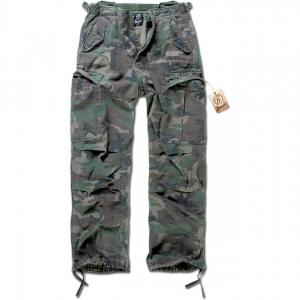 Kalhoty Brandit M65 Vintage Trouser - Woodland