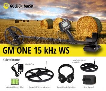 Detektor kovů GoldenMask GM One 15 kHz WS