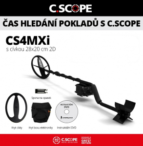 Detektor kovů C.Scope CS4MXi