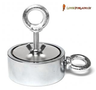 Magnet s okem M500 Double - magnetická síla 2x 500kg