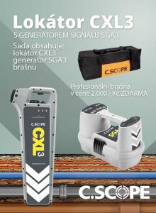 Zvýhodněný set lokátoru C.Scope CXL 3 a generátoru SGA 3
