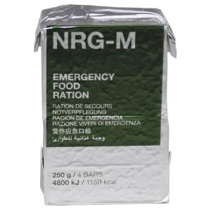 NRG-M  nouzová energetická dávka
