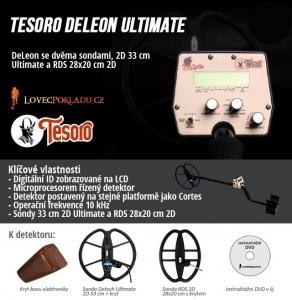 Detektor kovů Tesoro DeLeon RDS Ultimate