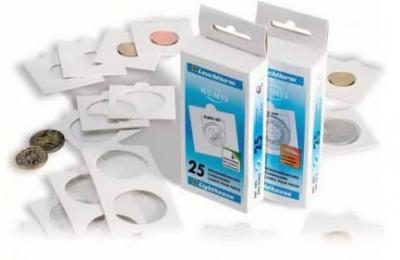 Rámečky samolepící na mince 30 mm 25ks