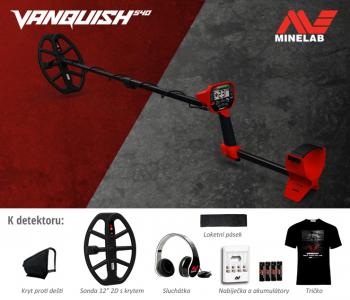 Detektor kovů Minelab Vanquish 540