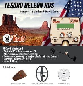 Detektor kovů Tesoro DeLeon RDS
