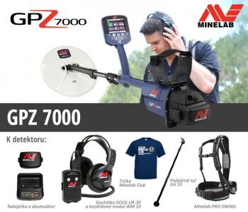 Detektor kovů Minelab GPZ 7000