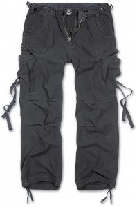 Kalhoty Brandit M65 Vintage Trouser - Černá