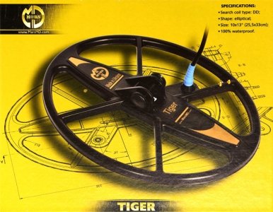 Sonda MARS MD Tiger pro XP Gold Maxx 18 kHz