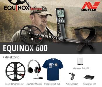 Detektor kovů Minelab Equinox 600