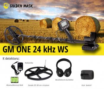 Detektor kovů GoldenMask GM One 24 kHz WS