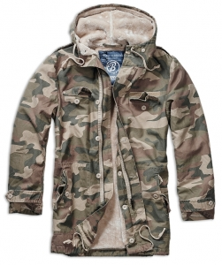 Army pánská bunda Brandit BW Parka - Light Woodland