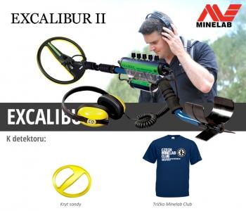 Detektor kovů Minelab Excalibur II