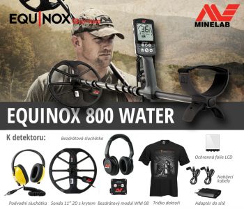 Detektor kovů Minelab Equinox 800 Water