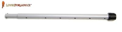 Tesoro střední kovová tyč - šedá
