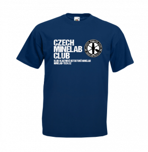 Tričko LP - Czech Minelab Club