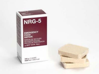 NRG-5 - nouzová energetická dávka (Emergency Food Ration)