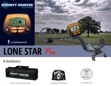 Detektor kovů Bounty Hunter Lone Star Pro