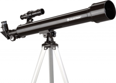Celestron PowerSeeker 50/600mm AZ čočkový teleskop