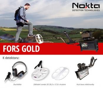 Detektor kovů Nokta Fors Gold