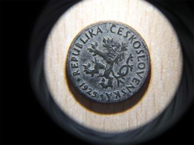 Lupa numismatická s rukojetí 10x s LED
