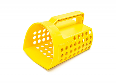 Nokta-Makro lopatka prosívací plastová - žlutá