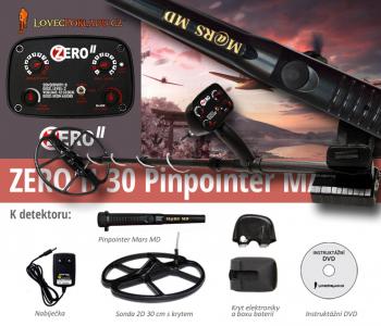 Detektor kovů LP ZERO II 30 - pinpointer set