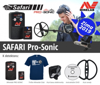 Detektor kovů Minelab Safari Pro Sonic