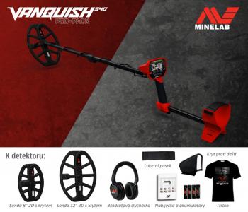 Detektor kovů Minelab Vanquish 540 Pro Pack