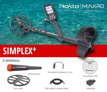 Detektor kovů Nokta-Makro Simplex + PP set