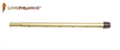 Tesoro střední kovová tyč - zlatá