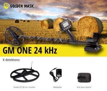 Detektor kovů GoldenMask GM ONE 24 kHz
