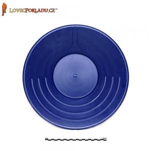 Rýžovací pánev modrá, plastová 35cm